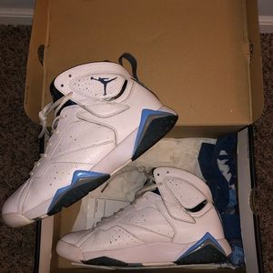 Jordan retro 7's French Blue